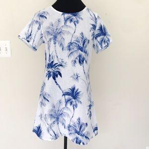 Tommy Bahama Blue Coconut Beach Spa Dress
